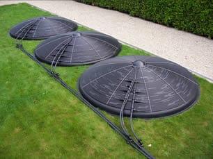 Blozoen zonnecollector aquatechno webshop for Zwembad verwarmen