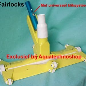 Fairlocks met adaptor