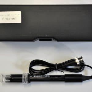 pH kunststof electrode BNC connectie