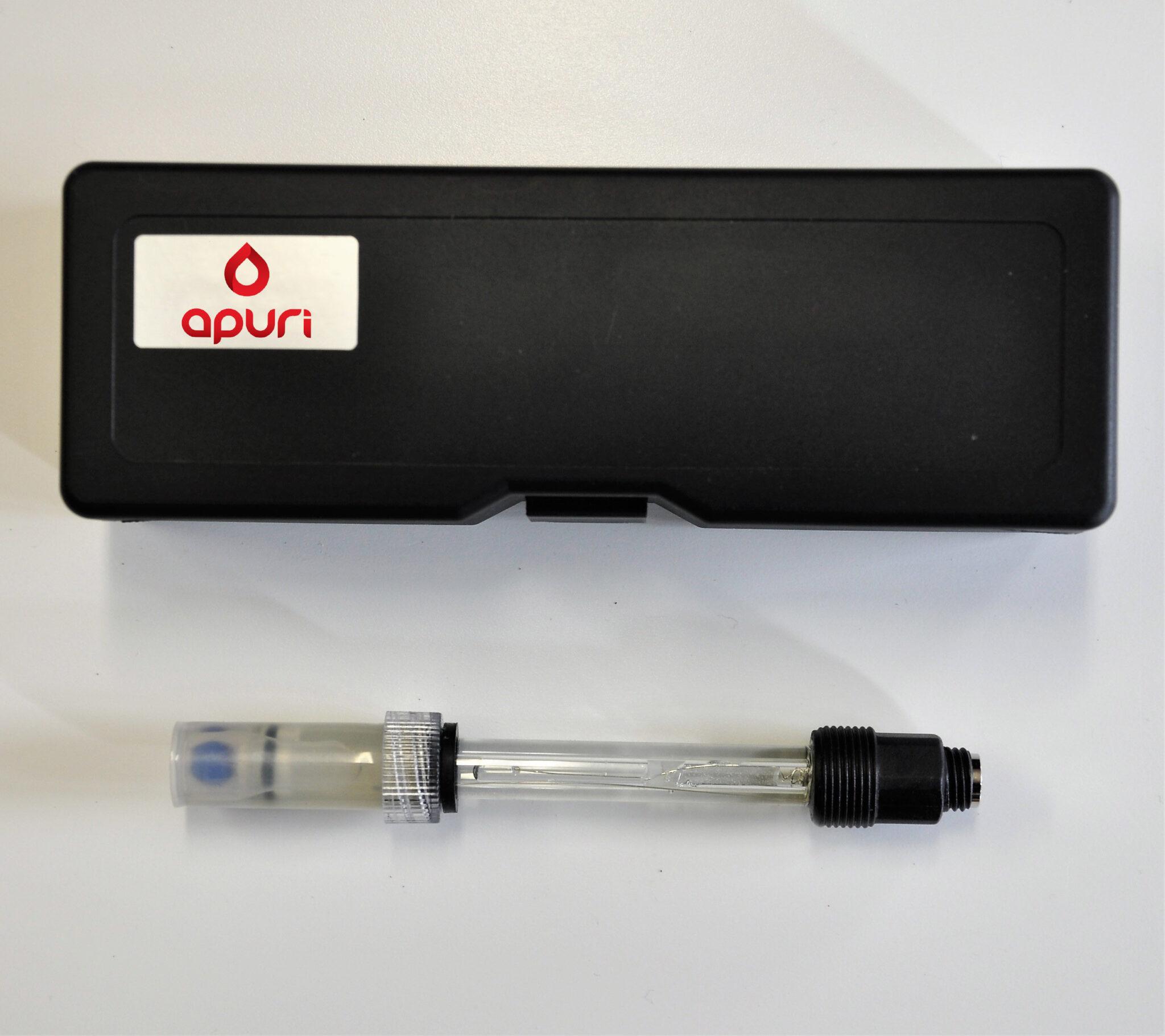 pH glas electrode draadconnectie