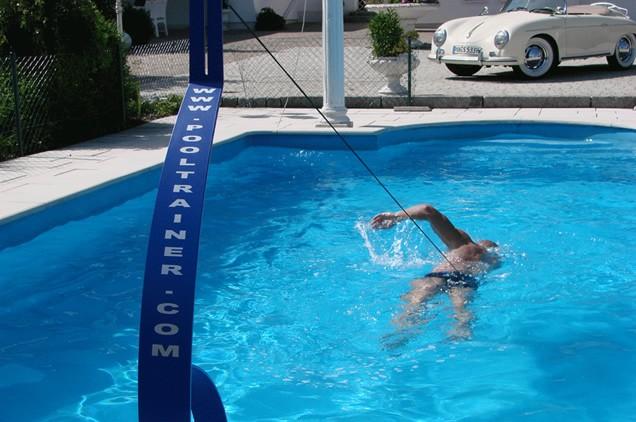 Pooltrainer zwem trainer