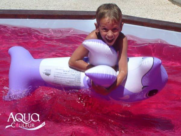 Aqua couleur water kleurstof fuchsia 2