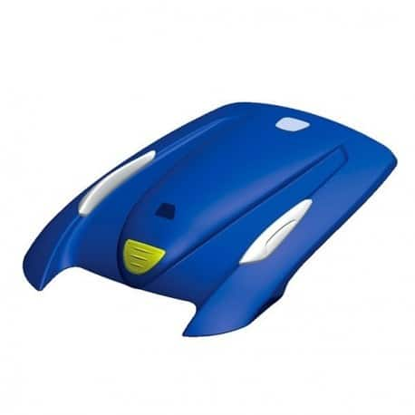Vortex cover hood blue deco