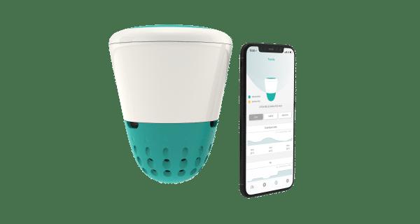 Zwembad meter app – Ondilo ICO Sigfox + Bleutooth