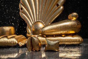 Sunvibes Gold Armchair