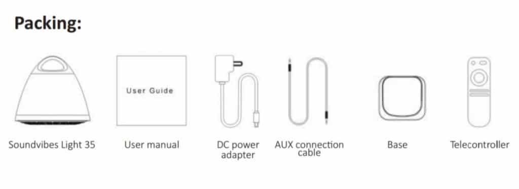 Soundvibes Light 35 Bluetooth Speaker