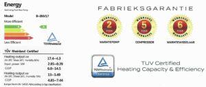 Warmtepomp AQT Inverter