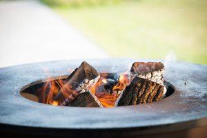 White Fire barbecue