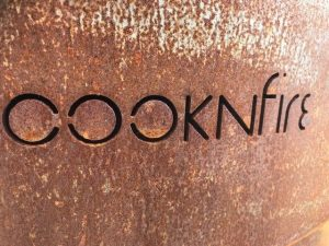 Hout barbecue CookNFire