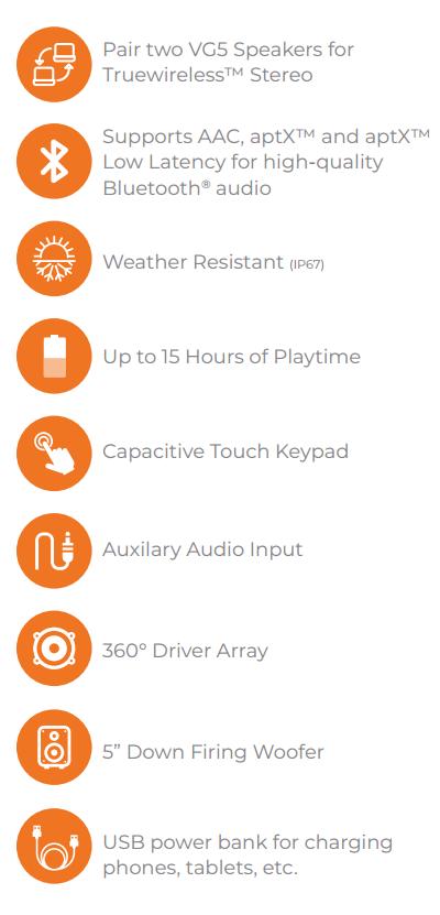 soundcast vg5 outdoor speaker