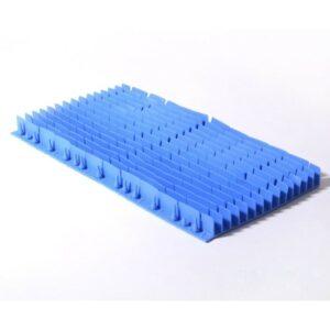 Dolphin S200/S300i lange Pvc borstel blauw