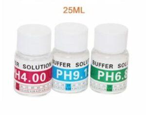 Pocket pH meter basic kalibratievloeistof set