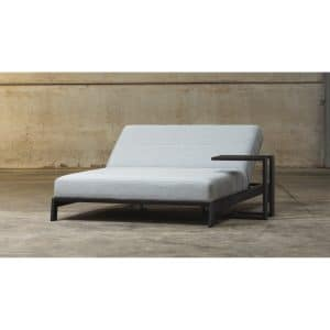 STAY Latitude double lounger black frame