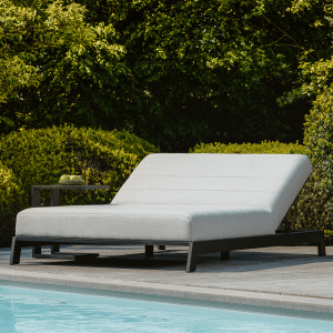 STAY Latitude double lounger white frame