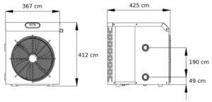 Warmtepomp mini R32 03