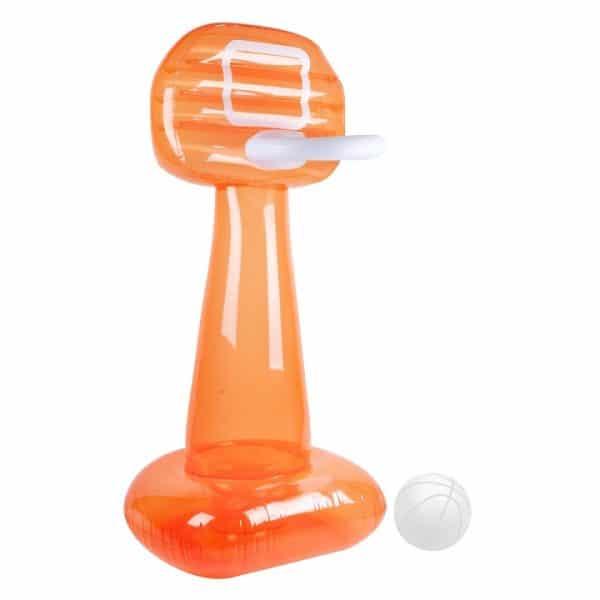 Mega opblaasbaar basketbal set